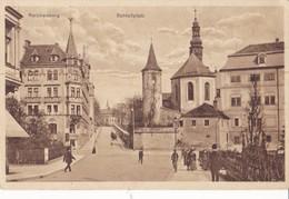 1052/ Reichenberg, Schlossplatz - Sudeten