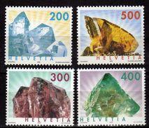 Switzerland 2002/2003 Minerals. MNH - Schweiz