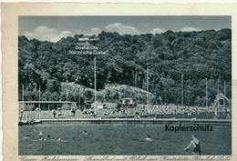 AK Essen, Baldeneysee, Strandbad - Essen