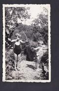 Photo Originale  Enfants De Paul Humbert Tir à L'arc Aout 1942  Flavigny / Moselle Ou Env. - Other