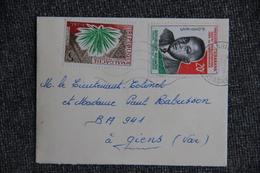 Lettre De République MALGACHE Vers FRANCE (83) - Madagascar (1960-...)
