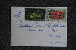 Lettre De La République MALGACHE Vers GIENS (83) FRANCE. - Madagascar (1960-...)