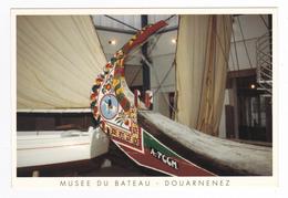 29 Musée Du Bateau Douarnenez Proue Du MOLICEIRO A 766 M Collecté à Aveiro Au Portugal Transportait Algues Et Joncs - Douarnenez