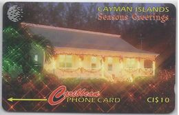 CAYMAN ISLANDS -  SEASON'S GREETINGS - 189CCIA - Cayman Islands
