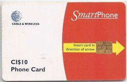 CAYMAN ISLANDS -  SMART PHONE RED - Cayman Islands