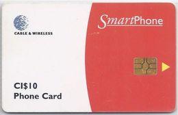 CAYMAN ISLANDS -  SMART PHONE RED - MILLENNIUM 2000 - Cayman Islands