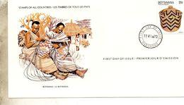 FDC  BOTSWANA  ART  CORNEILLE    N° YVERT ET TELLIER 384 - Botswana (1966-...)