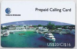 CAYMAN ISLANDS -  GEORGETOWN HARBOUR - CAY-05 - Cayman Islands