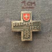 Badge (Pin) ZN006098 - Gymnastics Hungary Budapest World Championship 1934 Switzerland - Gymnastics