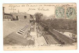 75 - PARIS LA BIEVRE - ÉDITION LL N° 458 - 1908 - DOS SIMPLE - 1908 - 2 Scans - France