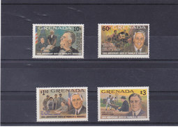 GRENADE 1982 ROOSEVELT  Yvert 1038-1041+ BF 403 NEUF** MNH - Grenada (1974-...)