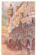 POSTAL    INNSBRUCK  - AUSTRIA  - HERZOG FRIEDRICHSTRABE - Innsbruck
