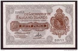 FALKLANDS - 50 Pence Du 20 02 1974 - Pick 10 B - UNC - Falkland Islands