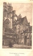 POSTAL   UTRECHT  -PAISES BAJOS  - MONASTERIO Y DOMKERK  ( KLOOSTERGANG EN DOMKERK ) - Utrecht