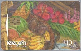 NZ.- TELECOM NEW ZEALAND PHONECARD. $ 10. .- 1 Card From Puzzle Boat, Nr. 077. - 2 Scans. - Puzzles