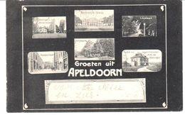 POSTAL   APELDOORN  - PAISES BAJOS  - SALUDOS DE APELDOORN  ( GROETEN VIR APELDOORN ) - Apeldoorn
