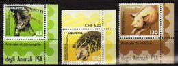 Switzerland/Suisse/Helvetia 2004 Swiss Animal Protection.Domestic Pig,European Hedgehog,cat/chat  MNH - Schweiz