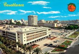 Casablanca, Avenue Hassan II  (scan Recto-verso) KEVREN0240 - Casablanca