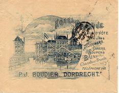 13 MEI 99 Geïllustreerde Envelop Van DORDRECHT Met NVPH 38 Naar Berlin - Periode 1891-1948 (Wilhelmina)