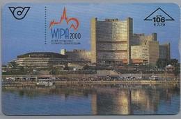 AT.- Telefoonkaart.Telekom Austria. WIPA 2000. WIENER INTERNATIONALE POSTWERTZEICHEN-AUSSTELLUNG. 2 Scans. - Oostenrijk