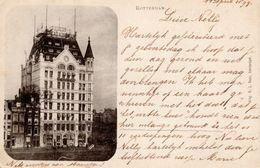 11 APR 99 Ansicht Van Rotterdam (Cacao A. Driessen) Naar Semarang Met NVPH35 - Periode 1891-1948 (Wilhelmina)