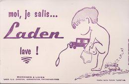 "BUVARD ""LADEN"" - Buvards, Protège-cahiers Illustrés"