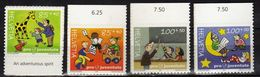 Switzerland/Suisse/Helvetia 2004 Pro Juventute - Children`s Rights.giraffe.card.truck.month.Education. MNH - Switzerland