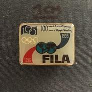 Badge (Pin) ZN006118 - Wrestling Federation / Association / Union FILA (Fédération Internationale Des Luttes Associées) - Wrestling