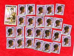 2947 - BURKINA  FASO - 1990/91  N° 829+837  Oblitérés - Burkina Faso (1984-...)
