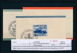 D.-Reich - 656-58 Minni FDC  (t9911  ) Siehe Bild  !! - Deutschland