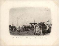 Campagne DUGUAY-TROUIN 1902-1903 - Expédition - ARGENTINE - Puerto Belgrano - Départ Pour Une Expédition - Argentine