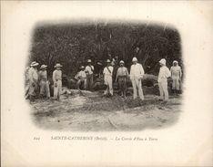 Campagne DUGUAY-TROUIN 1902-1903 - Expédition - BRESIL - Sainte-Catherine - Corvée D'eau - Brésil
