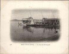 Campagne DUGUAY-TROUIN 1902-1903 - Expédition - BRESIL - Sainte-Catherine - Wharf De Florianopolis - Brésil