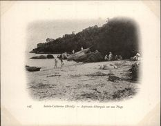 Campagne DUGUAY-TROUIN 1902-1903 - Expédition - BRESIL - Sainte-Catherine - Aspirants - Marins - Brésil