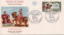 FRANCE  - 1966 History Of France VERCINGE TORIX   FDC2102 - FDC