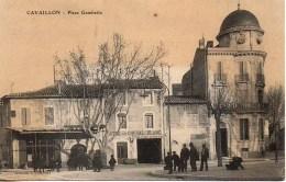 84 CAVAILLON  Place Gambetta - Cavaillon