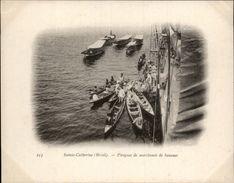 Campagne DUGUAY-TROUIN 1902-1903 - Expédition - BRESIL - Sainte-Catherine - Pirogues De Marchands De Bananes - Brésil