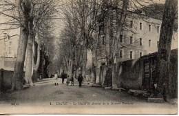 04 DIGNE Le Musée Et Avenue De La Grande Fontaine - Digne