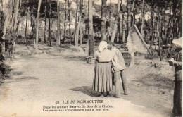 85 ILE De NOIRMOUTIER  Dans Les Sentiers Discrets Du Bois De La Chaize - Noirmoutier