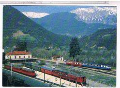CPM 38 GARE DE ST GEORGE DE  COMMIERS  TRAIN 1987 CB 342 001 - France