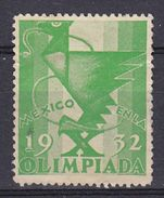 MEXICO 1932 - OLIMPIADA - Erinnophilie