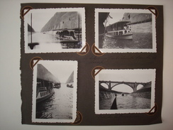 Inauguration Du Canal Albert En 1939. - 13 Photos. - Belgique, Liège. - Boats