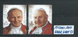 POLEN MICHEL SATZ 4666,4667 Gestempelt Siehe Scan - Used Stamps