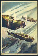Editoriale Aereonautica 1940 Cartolina 100% Nuova, Bombardieri Veloci - 1939-1945: 2nd War