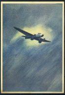 Editoriale Aereonautica 1940 Cartolina 100% Nuova, Volo Di Notte - 1939-1945: 2nd War