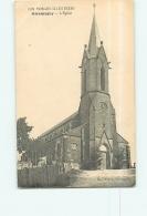 GIROMAGNY : L'Eglise. 2 Scans. Edition Andrès - Giromagny
