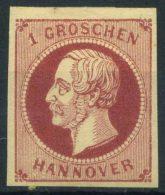 Hannover 1859 Mi. 14 Nuovo * 100% 1 Gr - Hanover