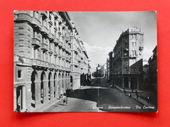 Cartolina Genova Sampierdarena - Via Cantore - 1949 - Genova