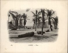 Campagne DUGUAY-TROUIN 1902-1903 - Expédition - DAKAR - SENEGAL - Gorée - Canons - Bateaux