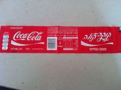 Coca Cola Label From Israel - Otros